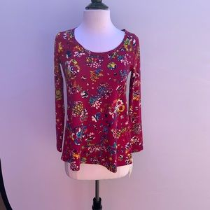 LULAROE Lynnae Scoop Neck Top Size XXS